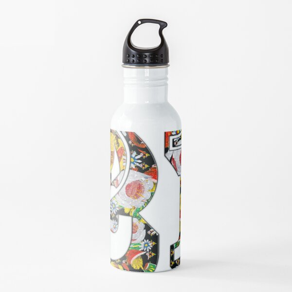 21 canal flowers chaos  from canalsbywhacky Water Bottle