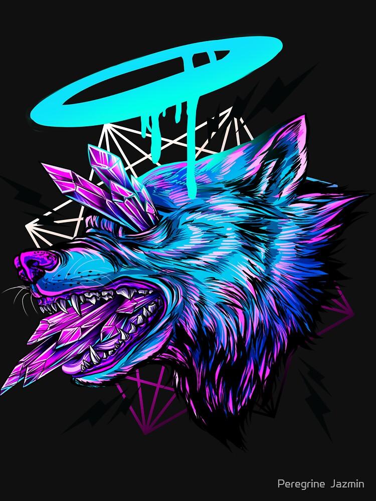 Crystal Wolf  by retkikosmos
