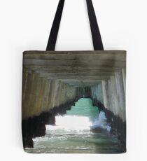 Wharf of Words  Tote Bag
