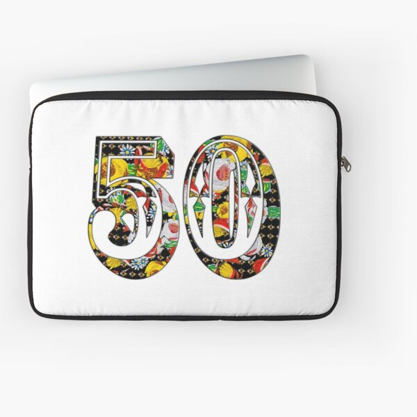 50 canal flowers chaos  from canalsbywhacky Laptop Sleeve