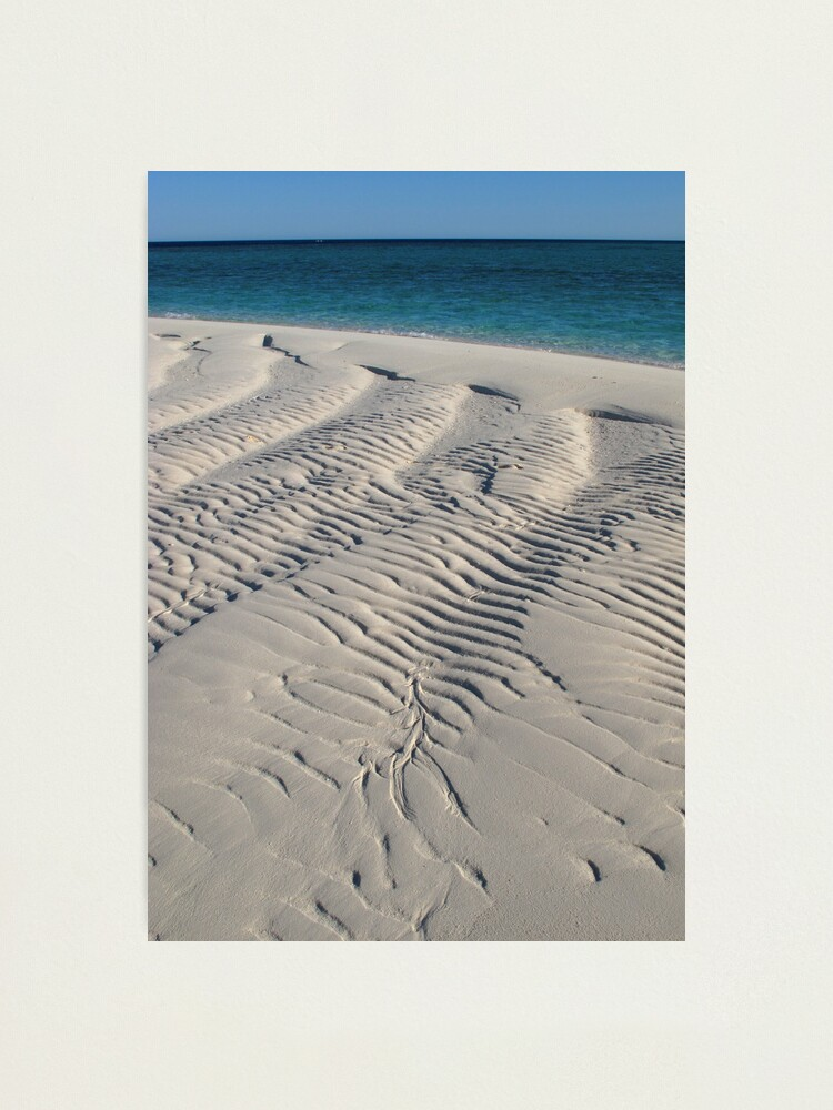 Alternate view of Bedwell Island Sand Dynamics II Photographic Print