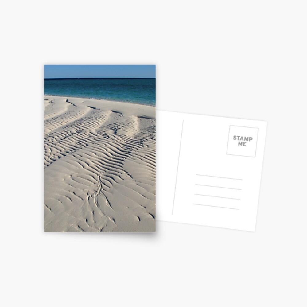Bedwell Island Sand Dynamics II Postcard