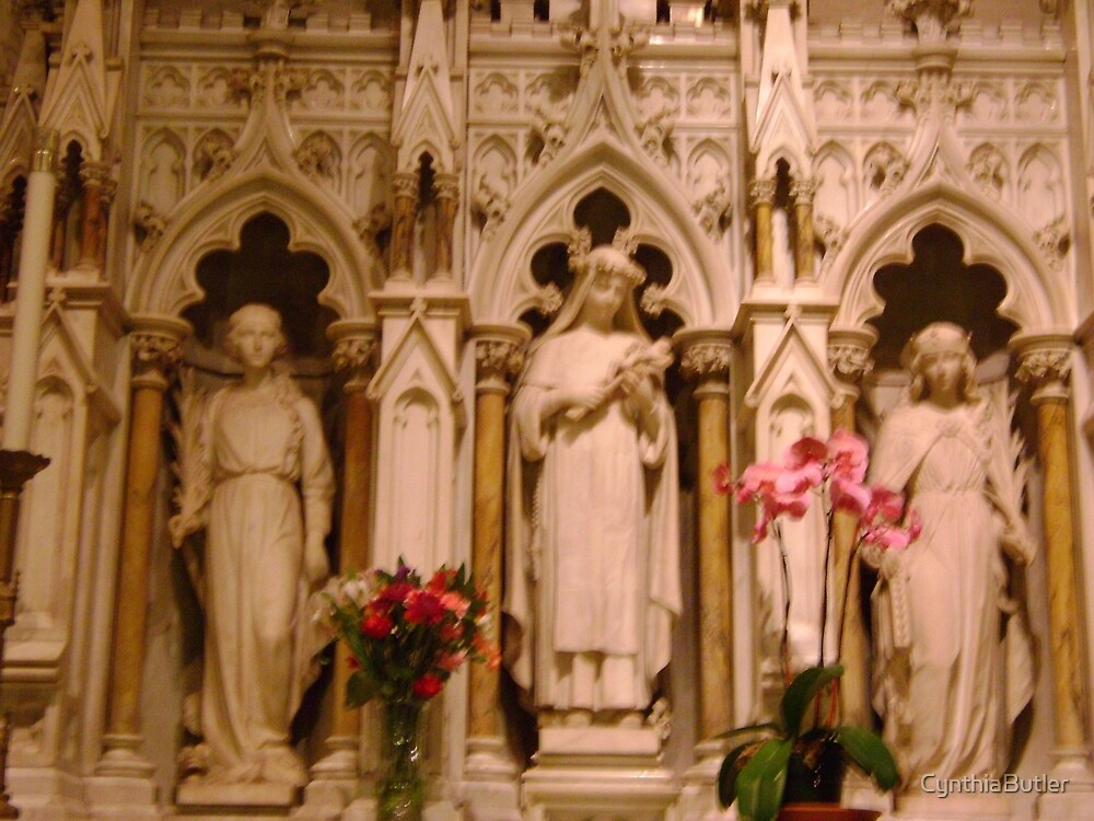 St Patricks Cathedral chapel , NYC by CynthiaButler
