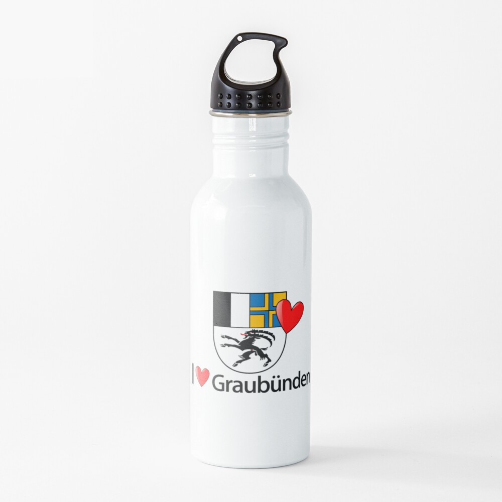 I love Graubünden Trinkflasche