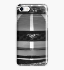 B&W Mustang HDR iPhone Case/Skin