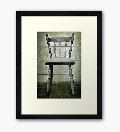 Waste of Space Framed Print