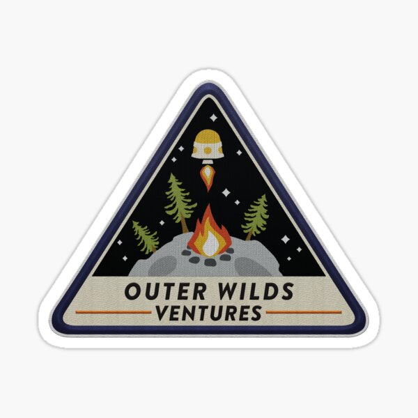 Outer Wilds Ventures Patch Sticker