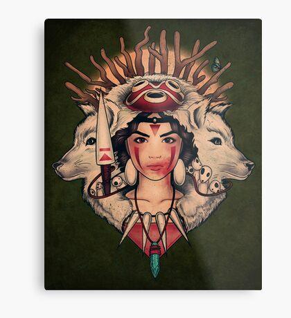 Spirit Princess Metal Print