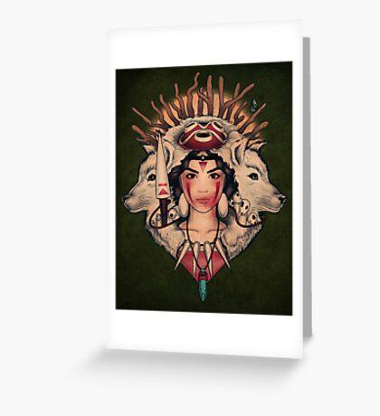 Spirit Princess Greeting Card