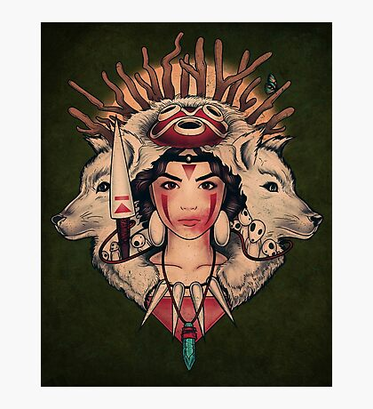 Spirit Princess Photographic Print