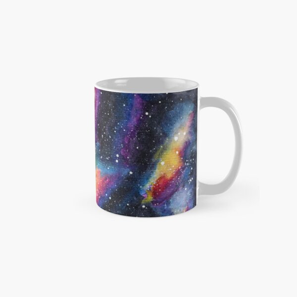 Galaxy One | Watercolor illustration | 014 Classic Mug