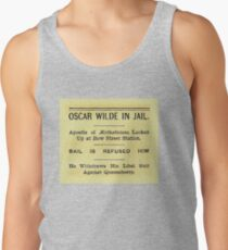 Oscar Wilde In Jail Headline Tank Top