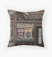 The Dive Throw Pillow