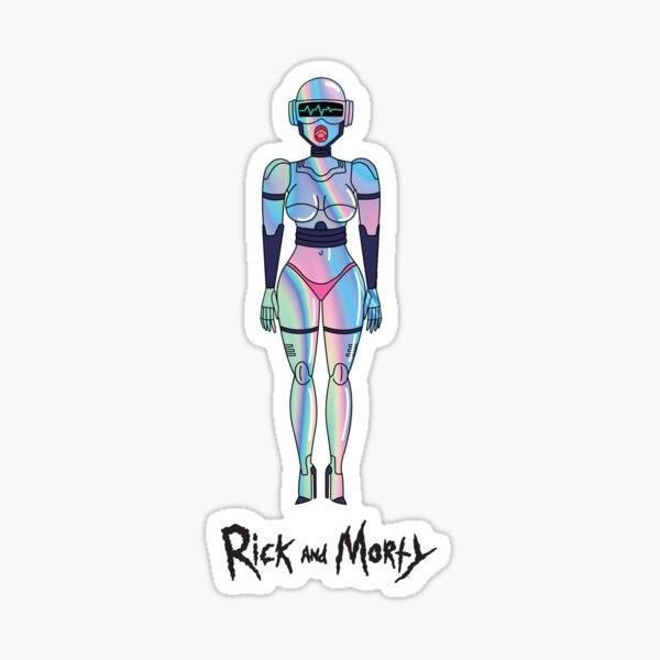 Rick and Morty - Gwendolyn Doll  Glossy Sticker