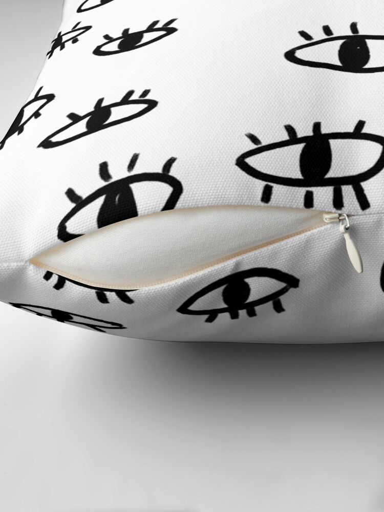 Alternate view of I'm Looking At U Throw Pillow