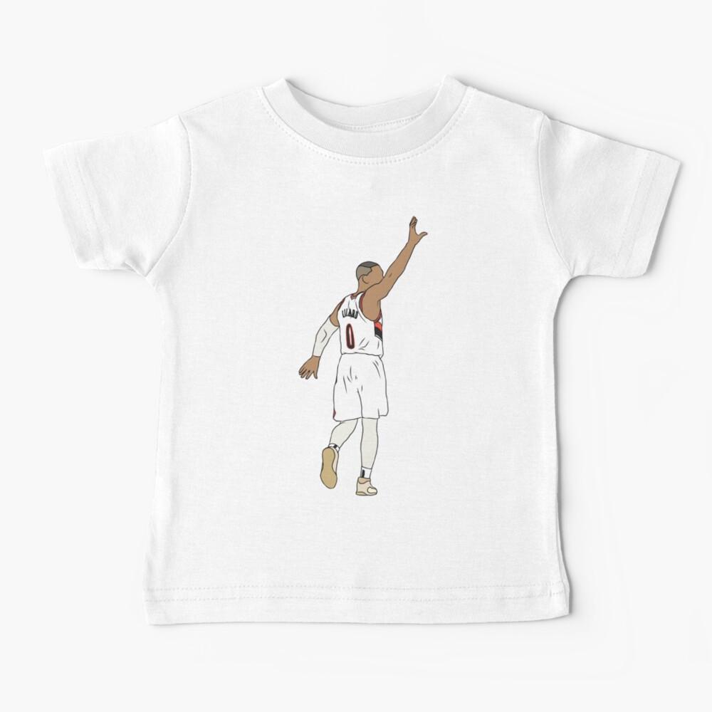 Damian Lillard Waves Goodbye Baby T-Shirt