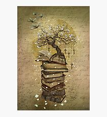 Knowledge is the key Photographic Print