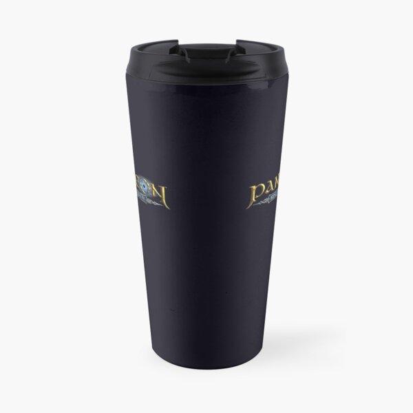 Double Pantheon Logo Travel Mug