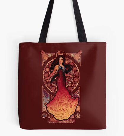 Fire is Catching Tote Bag