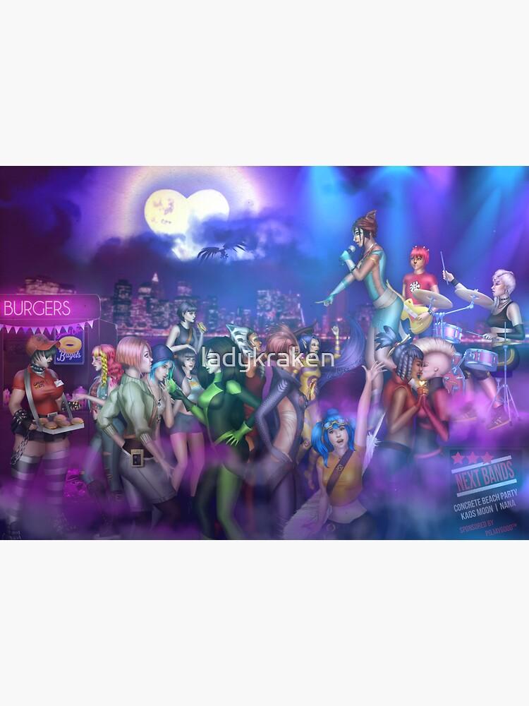 Super Concert Hero Girls by ladykraken