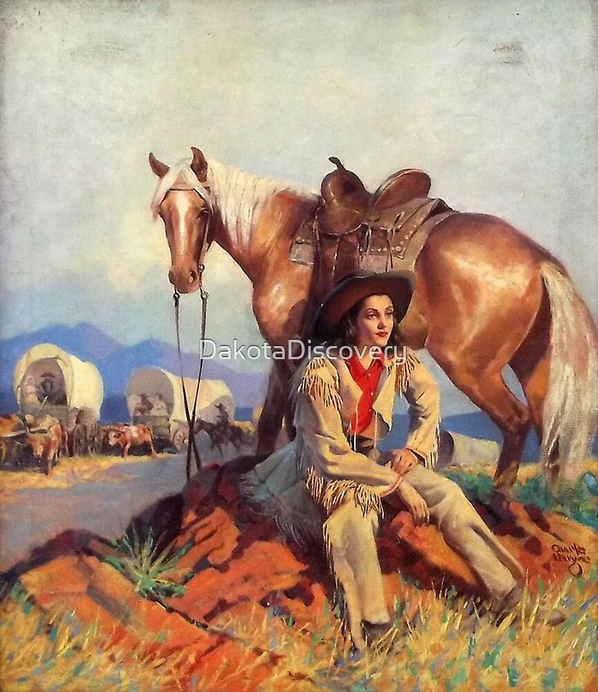Polly Kent Rides West by DakotaDiscovery