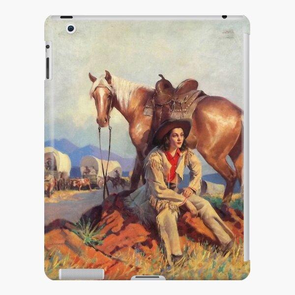 Polly Kent Rides West iPad Snap Case