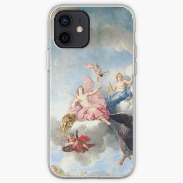Ceiling at Palace of Versailles in Paris, France – Best Seller iPhone Soft Case