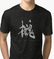 Metal Gear Solid - Philanthropy (white) Tri-blend T-Shirt
