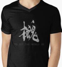 Metal Gear Solid - Philanthropie (weiß) T-Shirt mit V-Ausschnitt für Männer