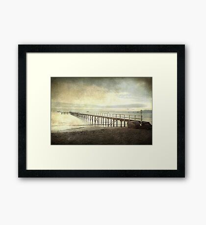 Morning Seas Framed Print