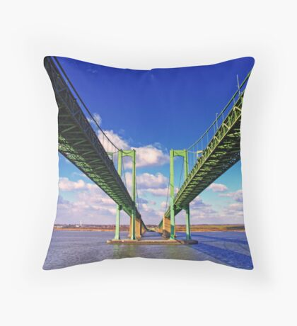 Parting of the Ways Throw Pillow