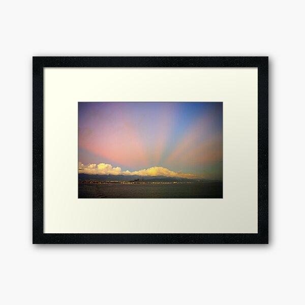 Jamaican Sunset Framed Art Print