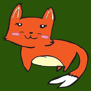 Foxy Forest by HekimoArt