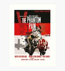 Phantom - Metal Gear Art Print