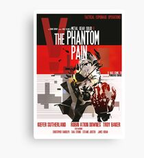 Phantom - Metal Gear Canvas Print