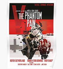 Phantom - Metal Gear Poster