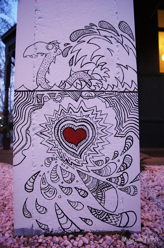 Powerline Art by MuscularTeeth