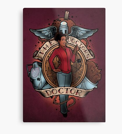 The Doctor's Doctor Metal Print