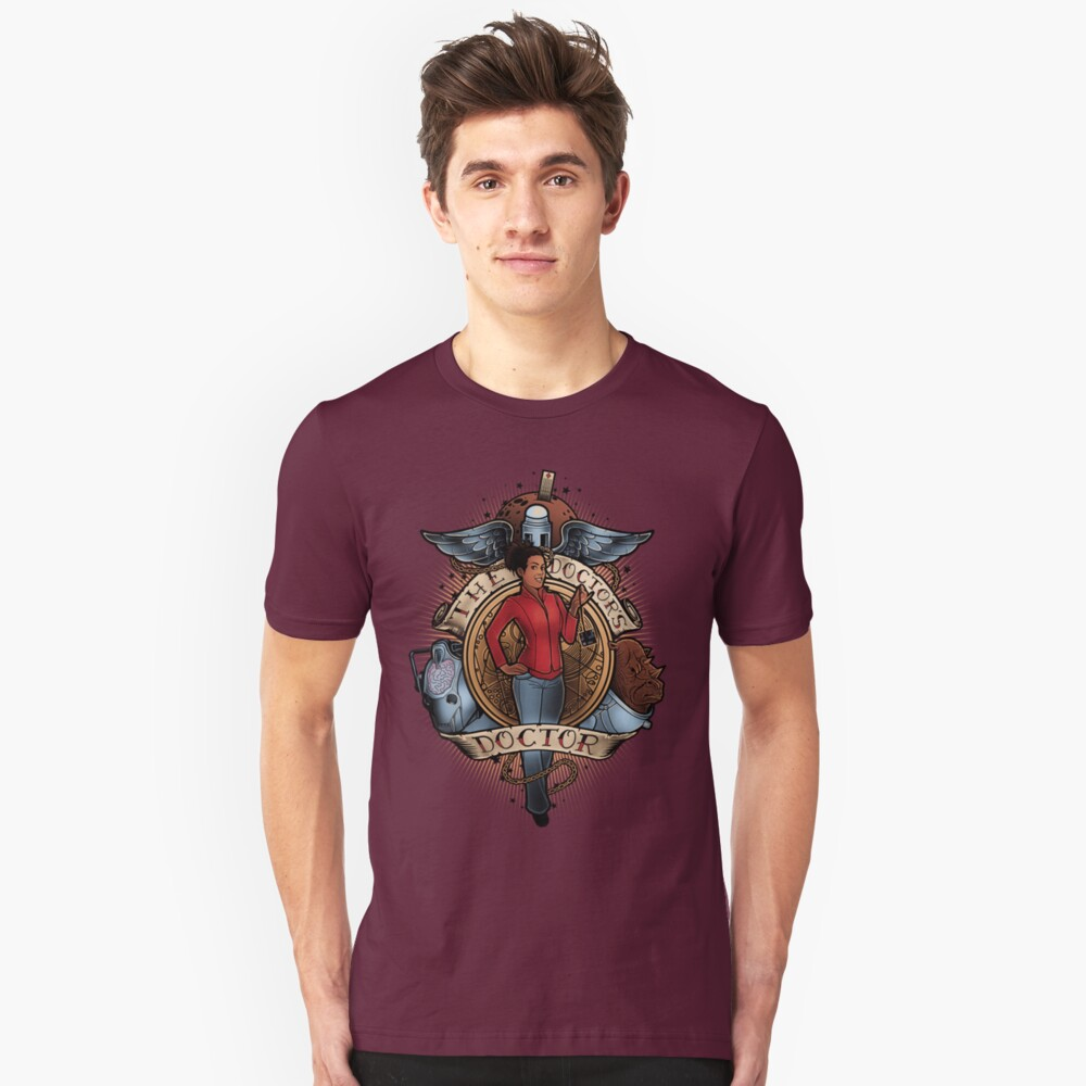 The Doctor's Doctor Unisex T-Shirt Front