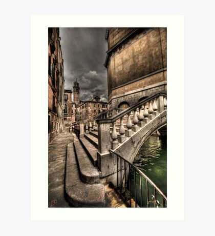 Crossing Over Art Print