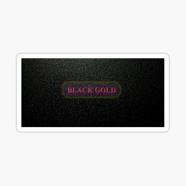 Black Gold Sticker