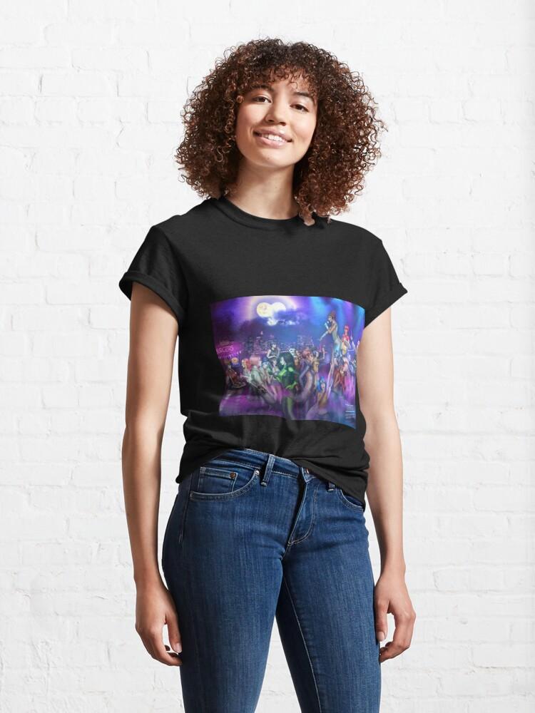 Alternate view of Super Concert Hero Girls Classic T-Shirt