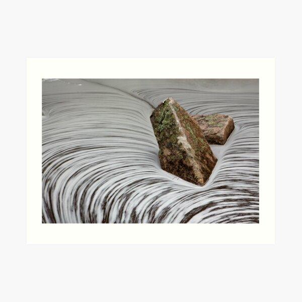A Swell Swirl Art Print