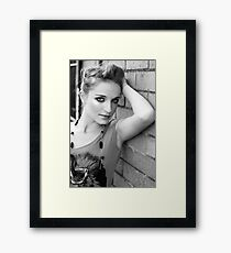 Courtney Framed Print