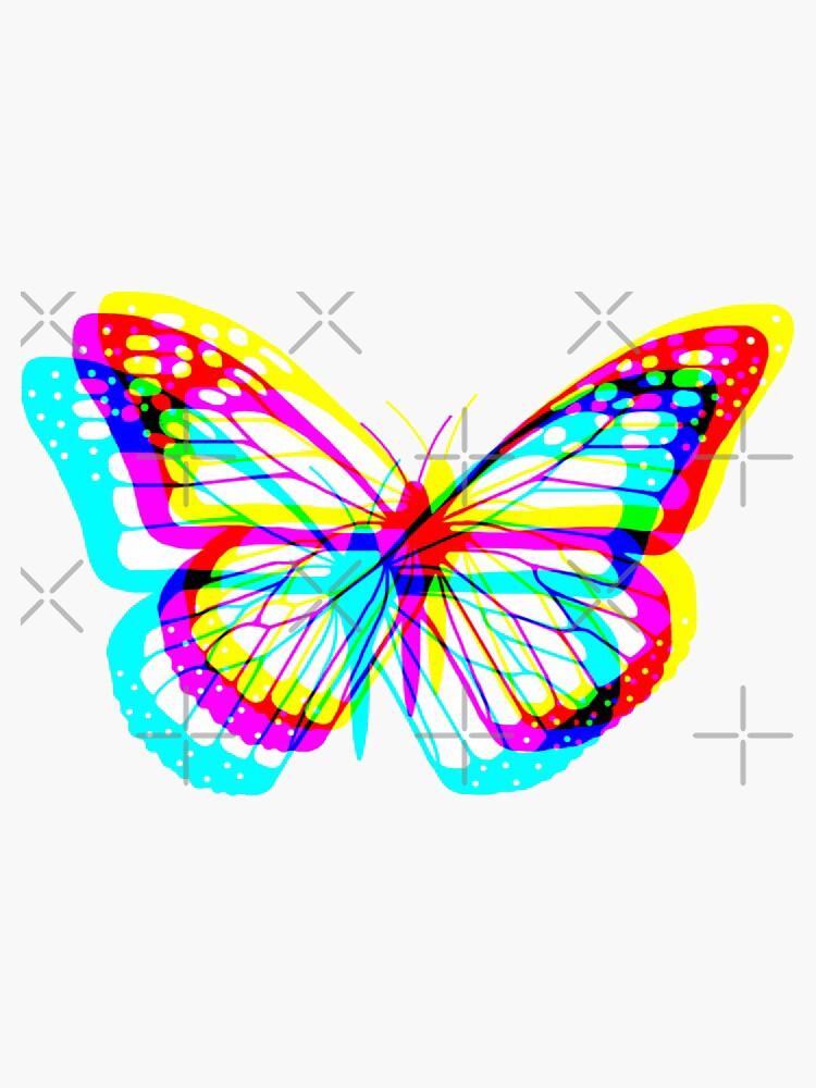 Glitch butterfly  by adavis175