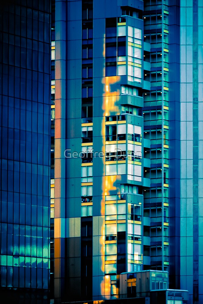 Melbourne Sunset by Geoffrey Dunn