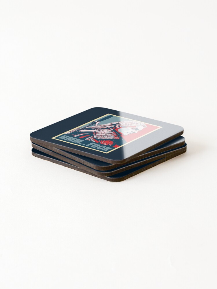 Alternate view of Hmm... F*ck! Coasters (Set of 4)