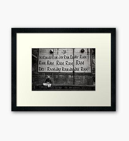 Ram Ram Ram Framed Print