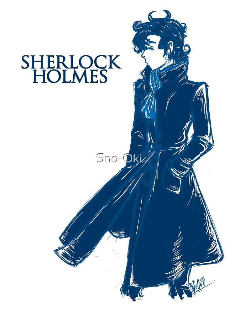 Sherlock Holmes - Blue by Sno-Oki