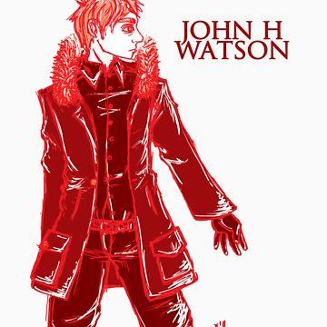 John Watson - Red - Text by Sno-Oki